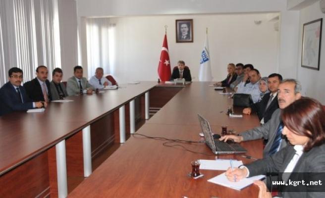 """Karaman'da """"Güvenli Okul-Güvenli Eğitim"""" Projesi Toplantısı"""