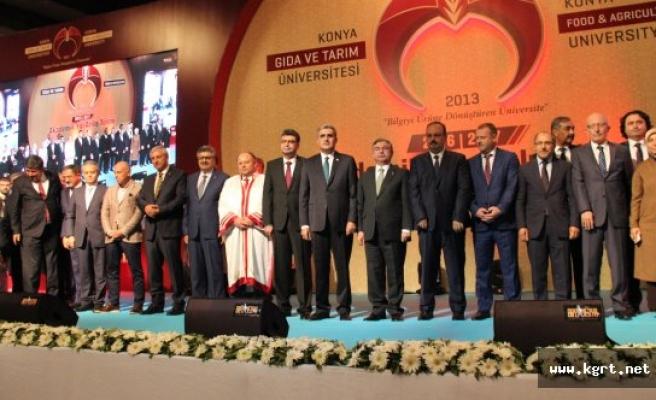 Konya Gıda Ve Tarım Üniversitesi Törenle Eğitime Başladı