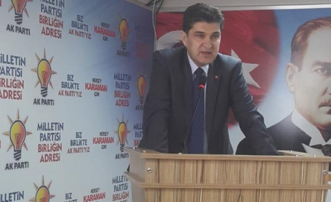 AK Parti İl Başkanı Nazmi Ünlü: PKK'nın İşlediği Cinayetler Örgütün Son Çırpınışlarıdır