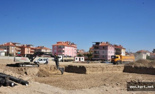 Karaman Belediyesi 24 Derslikli Okul İnşaatına Başladı