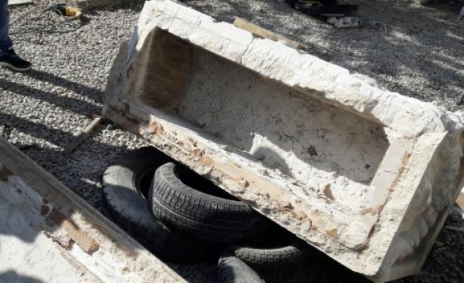 Karaman'da Ele Geçirilen Lahit Mezarın Sahte Olduğu Ortaya Çıktı