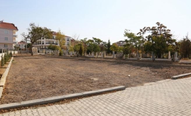 Kazalpa Mezarlığı Ve Çevresinde Çalışmalar Tamamlandı