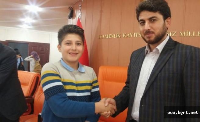 Kent Konseyi Çocuk Meclisi Başkanlığına Ali Eren Kazan Seçildi