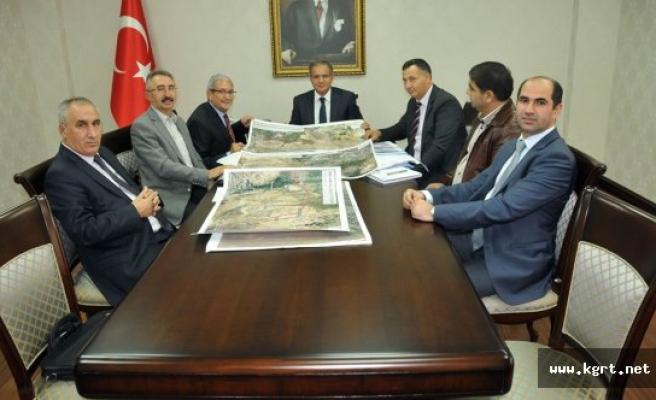 TCDD adana 6. Bölge Müdürü Çopur'dan Vali Tapsız'a Ziyaret