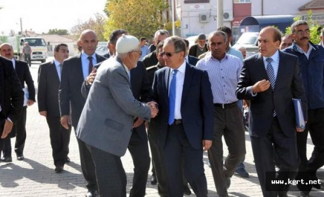 Vali Süleyman Tapsız'dan Elma Diyarı Akçaşehir'e Ziyaret