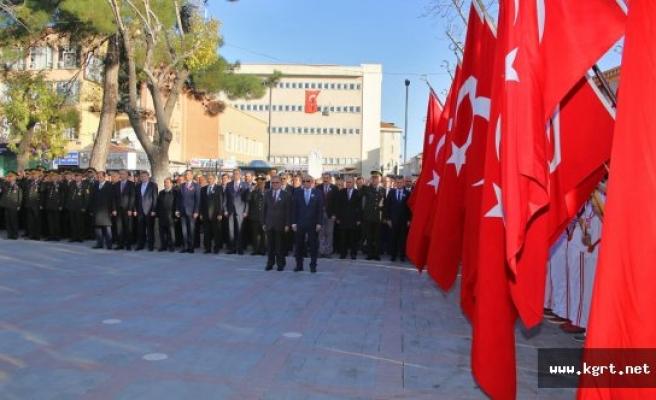 Atatürk Vefatının 78. Yılında Karaman'da Saygıyla Anıldı