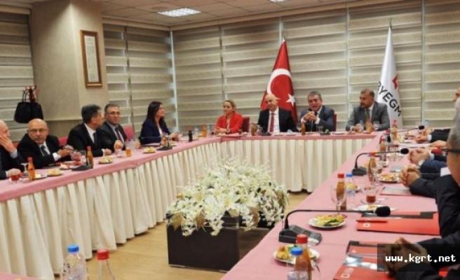 Basın Yayın ve Enformasyon İl Müdürleri Ankara'da Toplandı