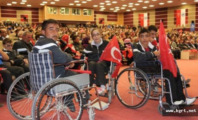 Bedensel Engelli Sporcular 15 Temmuz Kahramanlarını Yalnız Bırakmadı