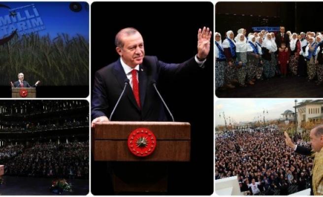 Karaman Çiftçileri Milli Tarım Projesinde Cumhurbaşkanı Erdoğan'la Buluştu