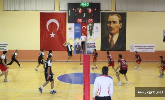 Karaman'da Öğretmenler Günü Voleybol Turnuvası Başlıyor