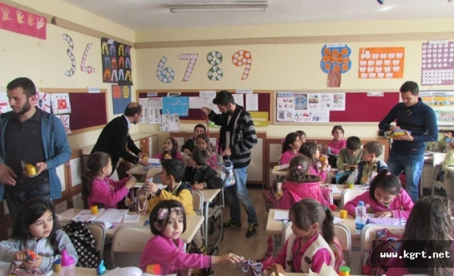 KMÜ'den Ermenek'teki Minik Öğrenciler İçin Yaratıcı Aktiviteler