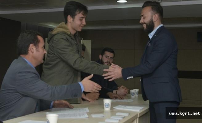 KMÜ, Öğrenci Konseyi Başkanını Seçti