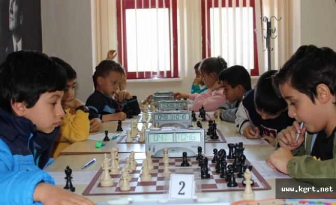 Küçükler Satranç Turnuvası Sona Erdi