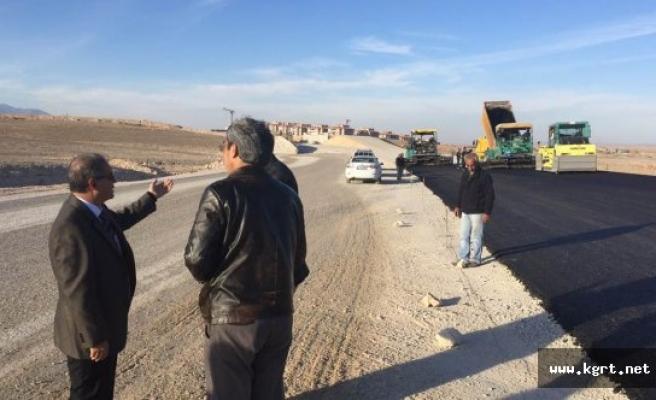 Vali Süleyman Tapsız'dan Çevre Yolu Denetimi