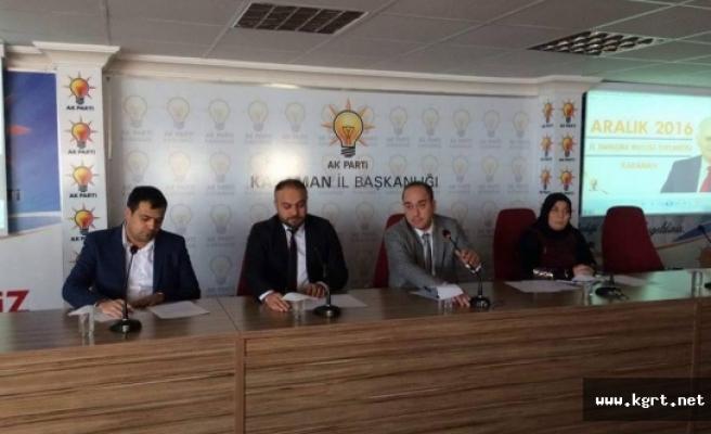 AK Parti'nin Danışma Meclisi Toplantısı Yapıldı