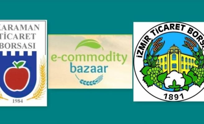 E-Commodity Bazzar Protokolü İmzalandı