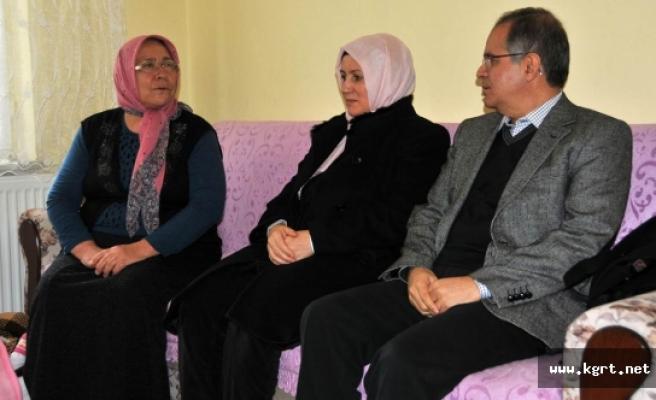 Eser Ve Tokalı Ailelerine Vali Tapsız'dan Anlamlı Ziyaret