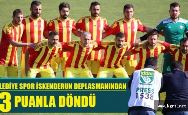Karaman Belediyespor İskenderun Deplasmanından 3 Puanla Döndü