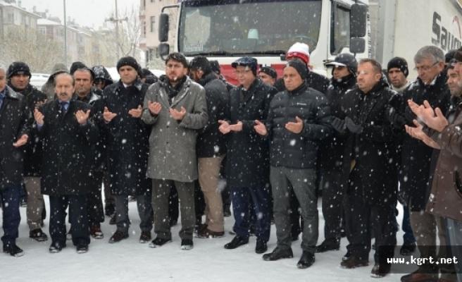 """Karaman'da """"Halep'e Yol Açın"""" Kampanyası"""