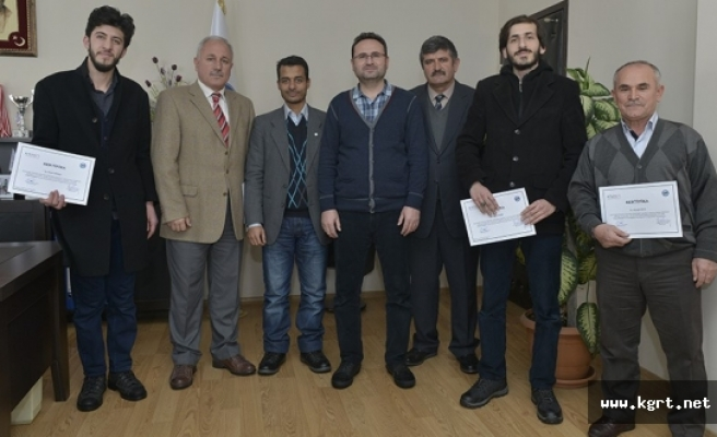 KMÜ'de Arapça Konuşma Kursu Sona Erdi