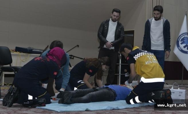 KMÜ'de Dünya Paramedik Günü Etkinliği Düzenlendi