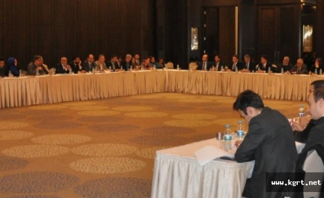 Konya İl Yatırım Destek Ve Tanıtım Stratejisi Eylem Planı Çalıştayı Gerçekleştirildi