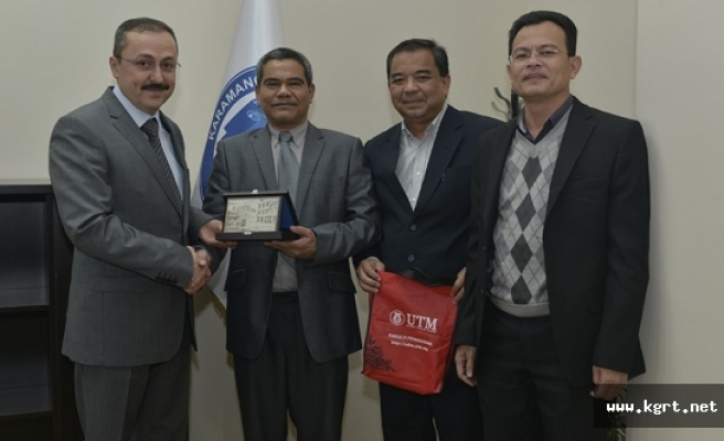 Malezyalı Öğretim Üyeleri, KMÜ'de Yapay Zeka Projesine Katıldı