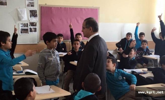 Vali Süleyman Tapsız, Kış Şartlarında Okulların Durumunu Yerinde İnceledi