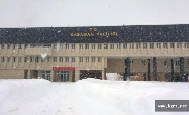 Valilik'ten Kış Tedbirleri Genelgesi