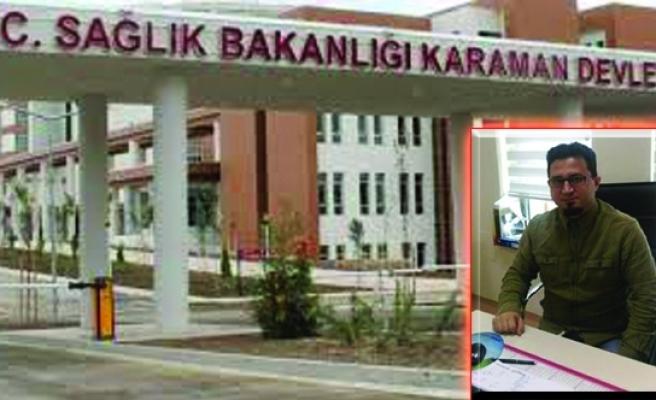 Karaman Devlet Hastanesi İlklere Devam Ediyor