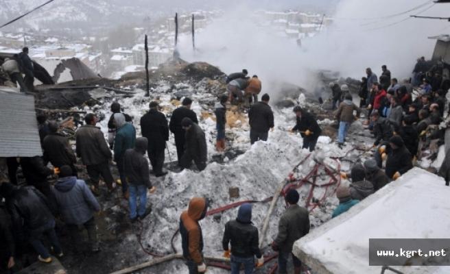 Karaman'da Baba İle 2 Kızı Yangında Öldü