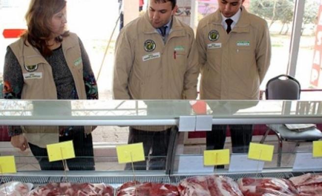 Karaman'da Kaçak Ete Geçit Yok