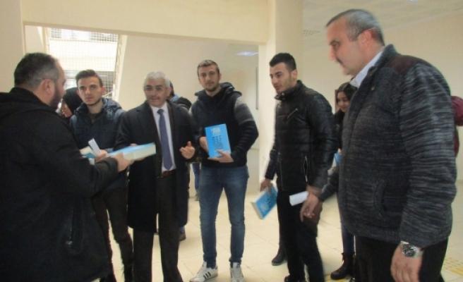 Kazım Karabekir Belediyesinden Ufka Yolculuk Meal Yarışmasına Tam Destek