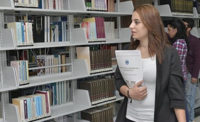 KMÜ Kütüphanesinden 2016 Yılında 18 Bin 833 Kitap Ödünç Alındı