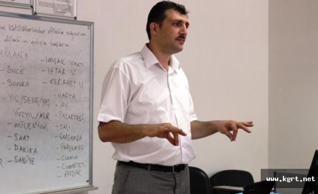 KMÜ'de Bilinçli Üniversite, Engelsiz Kampüs Projesi