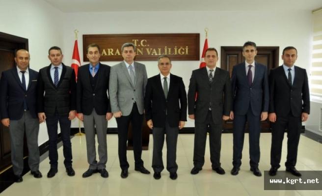 Vali Tapsız, Emniyet Ve Jandarma Personelini Başarı Belgesiyle Ödüllendirdi
