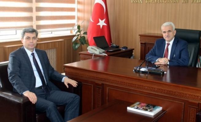 İl Müdürü Mevlüt Kuntoğlu'na Tebrik Ziyaretleri Devam Ediyor