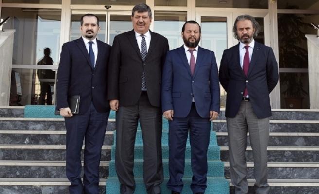 KTO Karatay Üniversitesi Rektörü Prof. Dr. Sade'den Rektör Akgül'e Tebrik