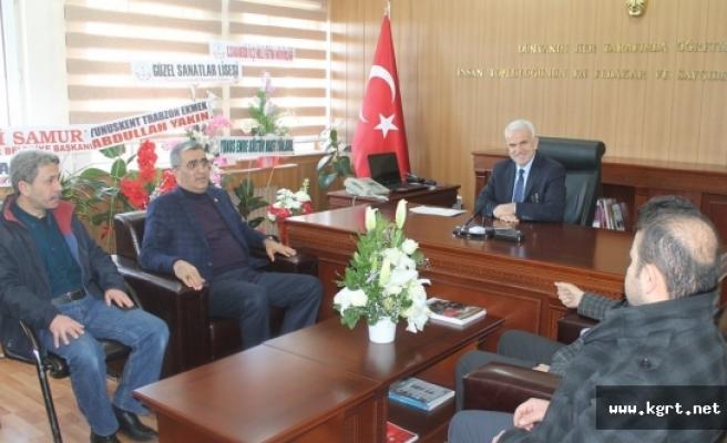 Milletvekili Recep Konuk'tan Kuntoğlu'na Hayırlı Olsun Ziyareti