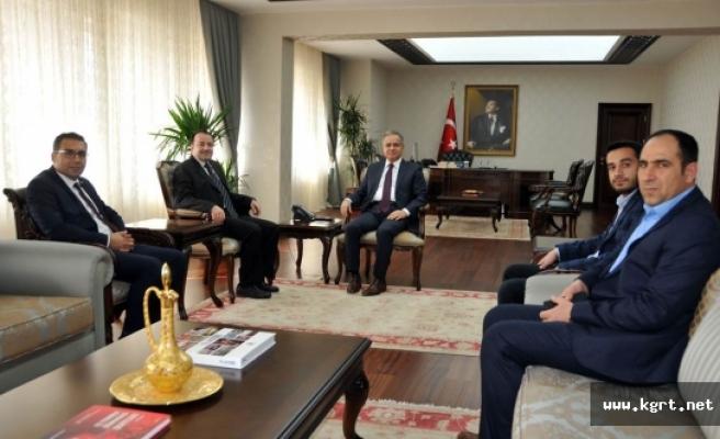 MÜSİAD'ın Yeni Yönetiminden Vali Tapsız'a Ziyaret