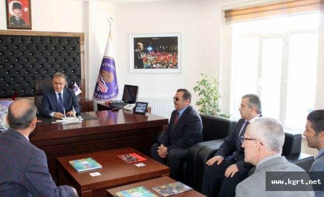 Vali Süleyman Tapsız'dan Kredi Yurtlar Kurumu İl Müdürlüğüne Ziyaret