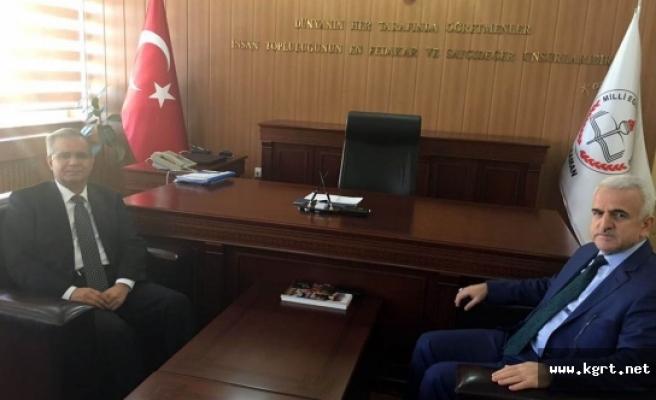 Vali Tapsız'dan Hayırlı Olsun Ziyareti