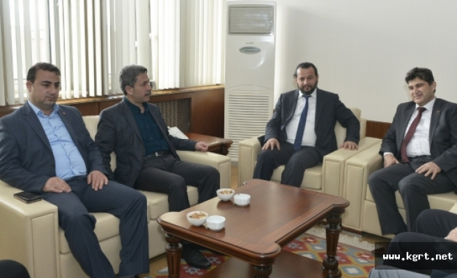 AK Parti İl Teşkilatından Rektör Akgül'e Ziyaret