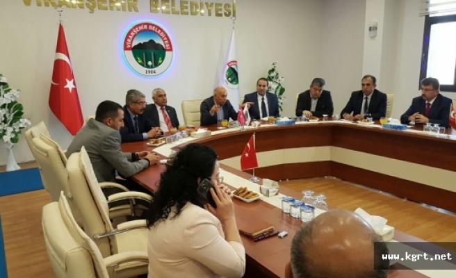 """Başkan Çalışkan: """"Viranşehir'i Hızla Geliştireceğiz"""""""