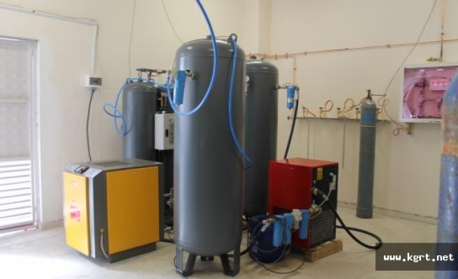 Ermenek Devlet Hastanesi'nde Taşıma Oksijen Dönemi Bitti