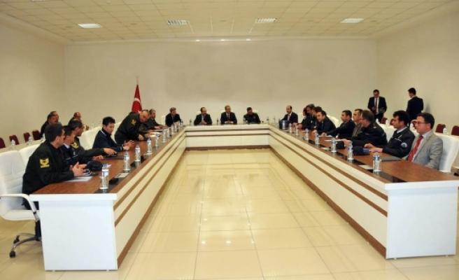 Halkoylaması Güvenlik Toplantısı Yapıldı