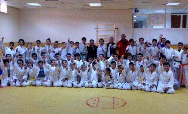 Judocular Ortak Antrenmanda Buluştu