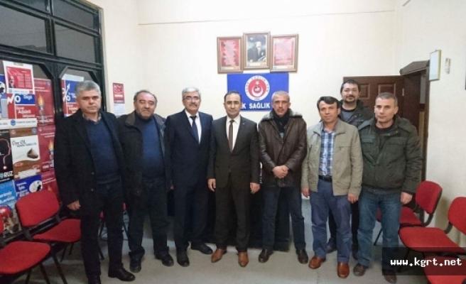 Kamu Hastaneler Birliği Genel Sekreterliğinden Türk Sağlık-Sen'e Ziyaret