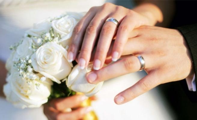 Karaman'da 2016 Yılında Bin 846 Çift Evlendi. 391 Çift Boşandı