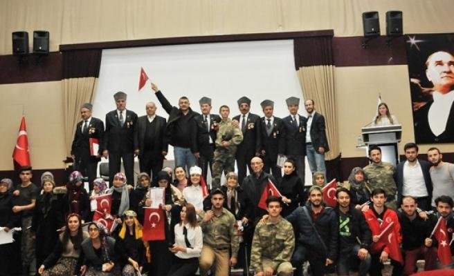 KMÜ Besyo, Şehit Yakınları Ve Gazileri Bu Yıl da Unutmadı